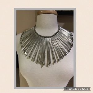 Sunburst Collar Necklace